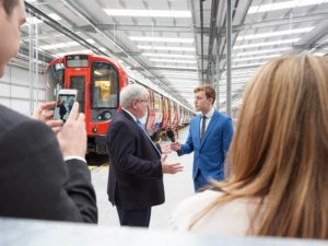 Opening of Bombardier Testing Facility in UK