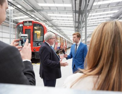 Opening of Bombardier Train Testing Facility in UK
