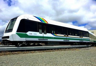 Hitachi Unveil Honolulu Metro Cars