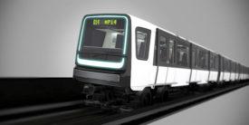 Alstom Unveil Ile-de-France MP14 Trainset Design