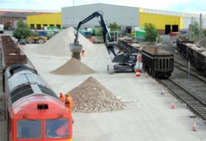 DB Cargo UK Open Pop Up Rail Depot
