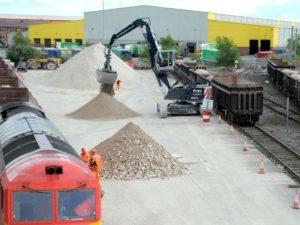 DB Cargo UK Open Pop Up Rail Depot