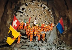 Gotthard Base Tunnel – A Ground Breaking Project