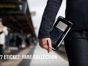 eTicket rugged Android tablet