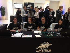 HackTrain Conference Welcome Desk