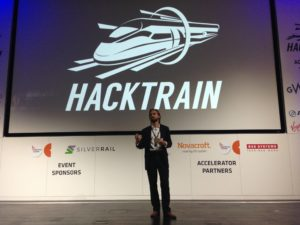 Gavin James at HackTrain Conference