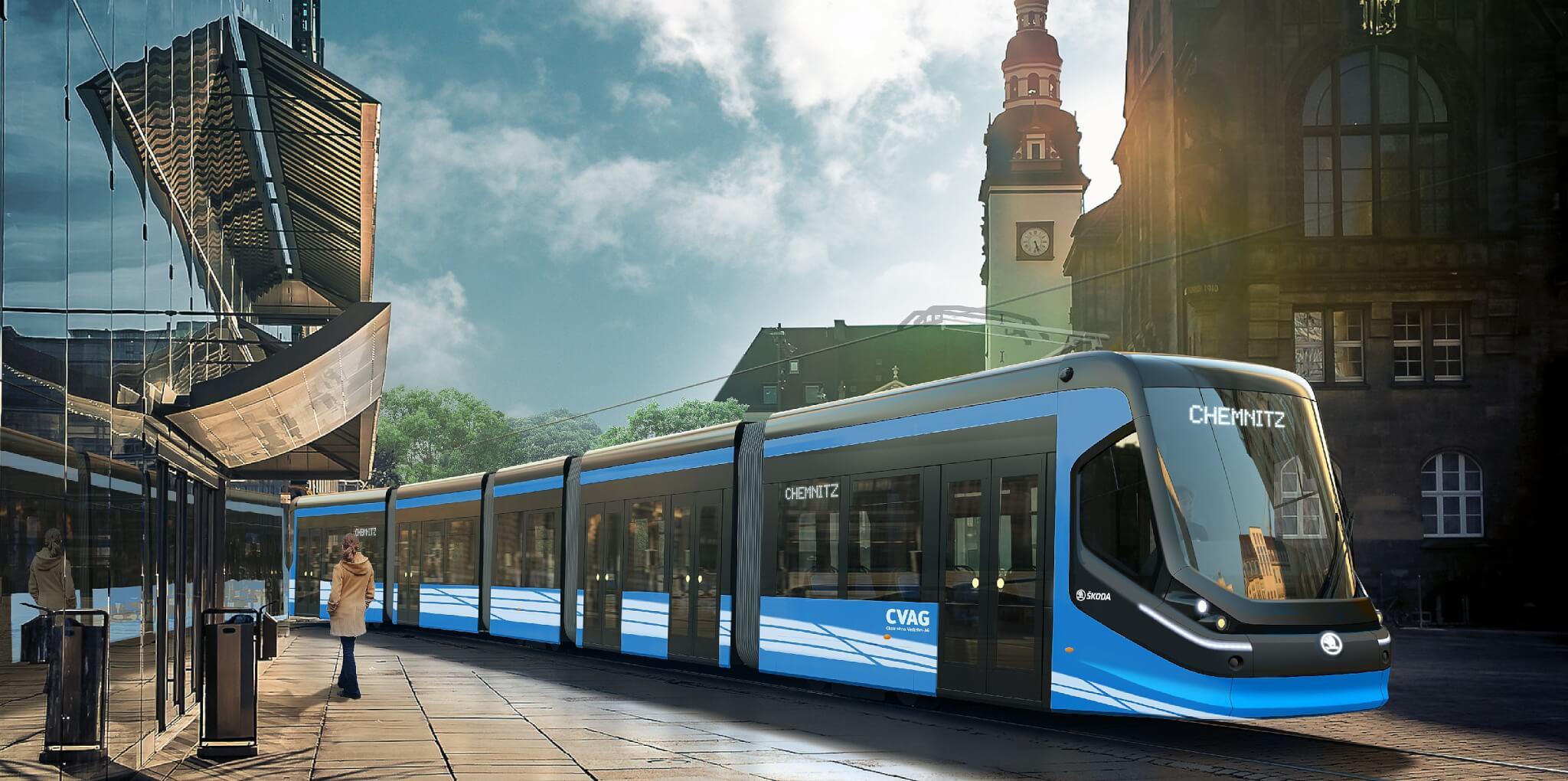 Skoda Win Chemnitz Tram Contract | Railway News