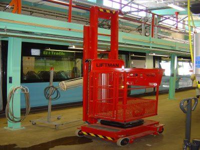 Liftman TM Preparation of Trains - Sweden
