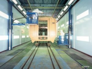 Wall-Man ® Train Painting – Belgium