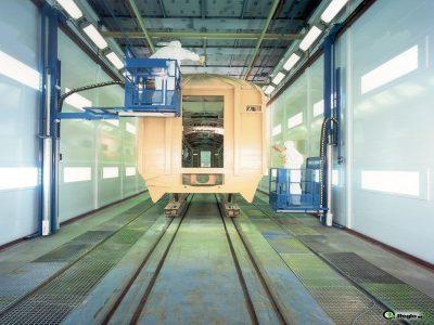 Wall-Man ® Train Painting - Belgium
