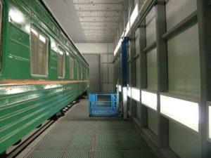 Wall-man ® Train Painting – Russia