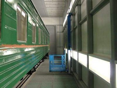 Wall-man ® Train painting - Russia