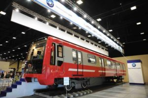 Transmashholding Unveil St. Petersburg Metro Train Design
