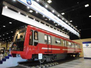 Transmashholding Unveil St. Petersburg Metro Train Design