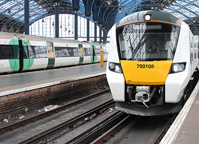 Thameslink Siemens Desiro City Train Delivered