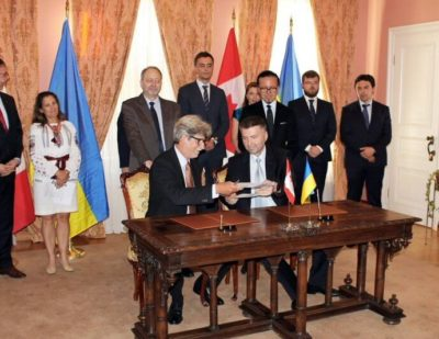 Bombardier Ukrainian Railways MoU
