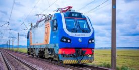 KZ4AT Locomotive Sets Kazakhstan High Speed Record