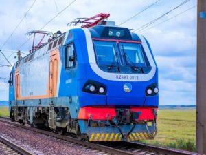 KZ4AT Locomotive Sets Kazakhstan High Speed Record