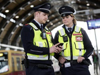 DB Trial Bodycams in Berlin Stations