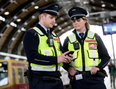 DB Trial Bodycams in Berlin Stations