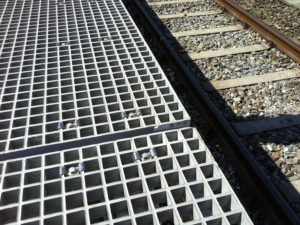 Fiberline Composites GRP nonconductive gratings