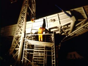 Fiberline Composites bridge installation