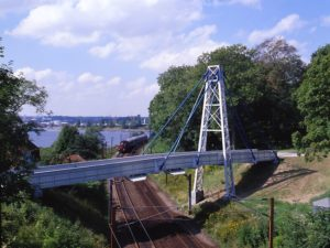 Fiberline Composites railway bridge