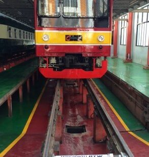 In-Motion Portable Train Weighing in Indonesia