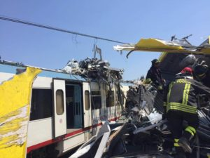 Fatalities in Puglia Train Crash