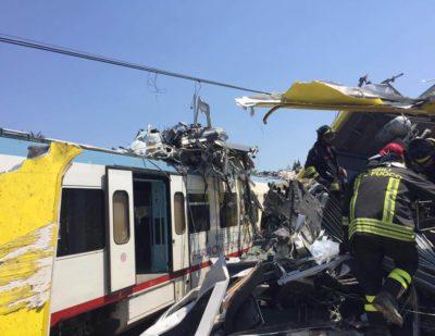 Fatalities in Puglia Train Crash