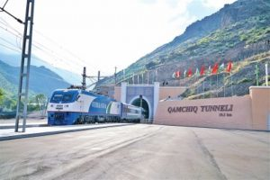 Inauguration of Kamchiq Rail Tunnel