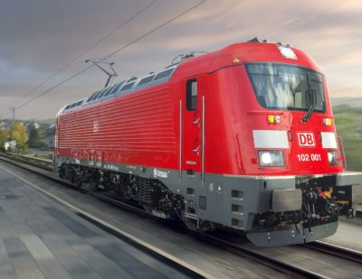 Škoda Unveil Deutsche Bahn Regio Locomotive