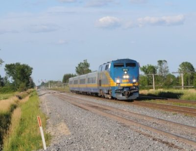 VIA Rail Canada Announce Intermodal Ticket Sales