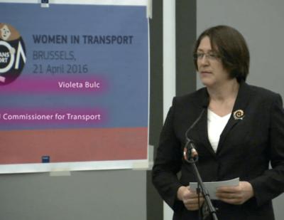 EC Encourages Women in Transport