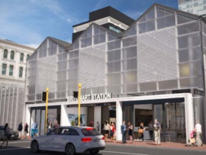 Auckland City Rail Link Works Begin at Britomart