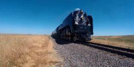 Union Pacific No. 844 Steam Locomotive on Exhibition Tour