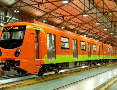 CAF México Win Mexico City Metro Contract
