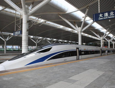 China Standard Bullet Train in Operation