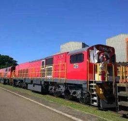 Transnet Receive First 45D Diesel Locomotive
