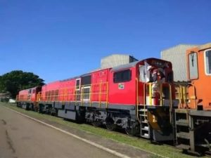 Transnet Receive First 45D Diesel Locomotive