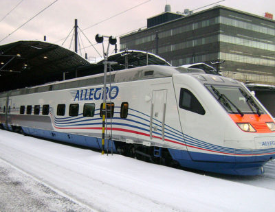 Rise in Finland–Russia Cross-Border Rail Travel
