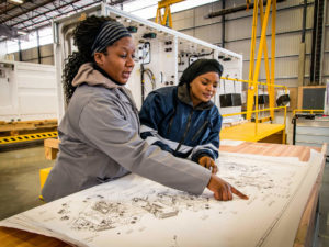 Bombardier South African Production Facility Opens