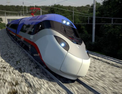 Alstom to Design and Build New Amtrak High-Speed Train