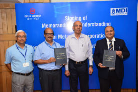 Delhi Metro Rail Academic Collaboration