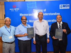 Delhi Metro Rail Academic Collaboration