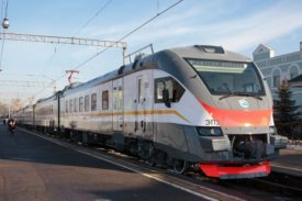 EP2D DC Electric Train Certified to Operate in Eurasian Economic Union