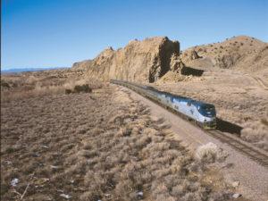 Amtrak Inspects BNSF Upgrade Progress