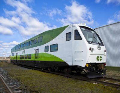 Toronto Orders 125 Bombardier BiLevel Commuter Rail Cars
