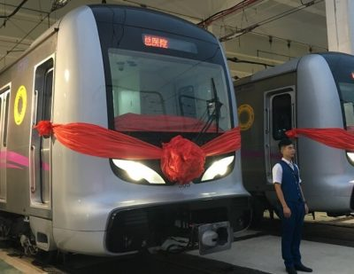 Chengdu Metro Line 3 Enters Service.