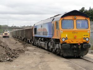 GB Railfreight Sibleco Extend Contract